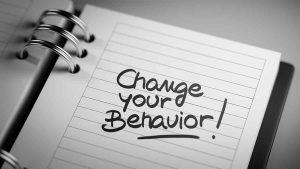 Change Your Behavior